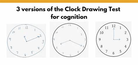 Researchers assess usefulness of clock drawing cognitive test in patients with high blood pressu. Clock Drawing Test Results : Clock-Drawing Results ...