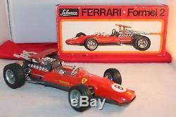 + 1 265,47 rub доставка. Vintage Original Schuco Ferrari 1073 Formel 2 German Toy ...
