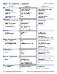 this is a great house cleaning checklist this site also With maid checklist template