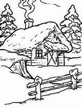 Ausmalbilder Weihnachtsmalvorlagen Tipssundvorlagen Cabin Kennedidrawing Riquisimo Badezimmer Tipss Pirografia Scherenschnitt Aquarell sketch template