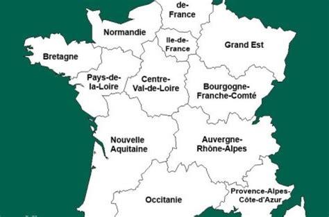 Nouvelle Carte De Par Region by Carte De Avec Les Nouvelles R 233 Gions Voyages Cartes