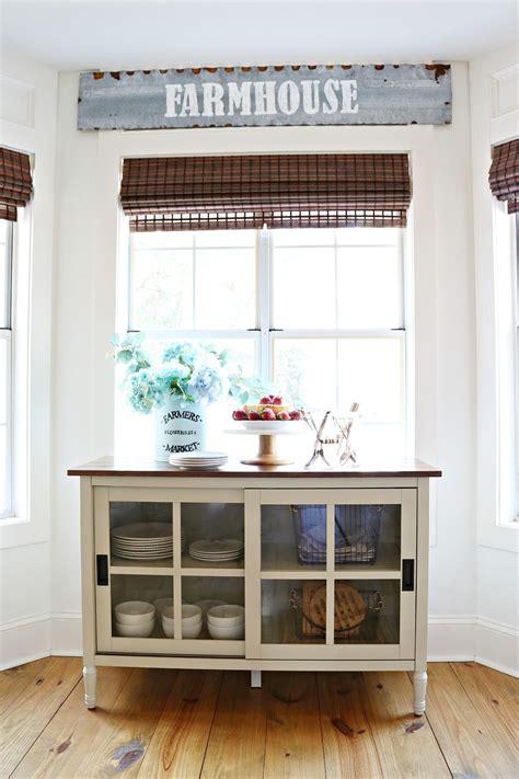 dining room storage refresh restyle