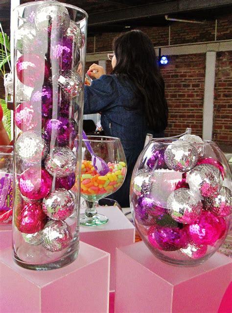 christmas decorations   centerpieces  disco