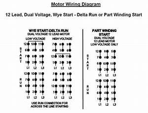 460v 12 Lead Motor Wiring Diagram 41227 Enotecaombrerosse It