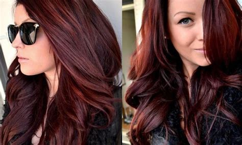 How To Brown, Red And Dark Short Ombre Hairstyle?