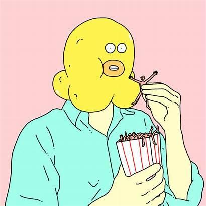 Random Gifs Popcorn Weird Giphy Reaction Henry