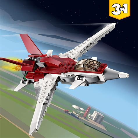 Lego® lego creator sets are a great childrens toy. LEGO Creator 3-in-1 Futuristic Flyer Set 31086 - The ...