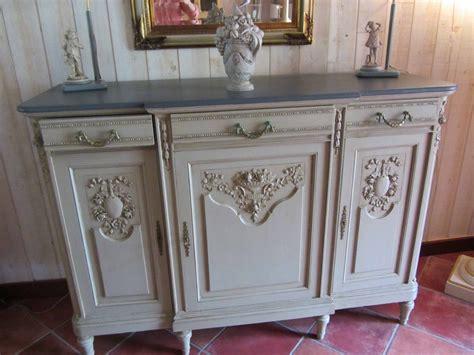 meuble ancien patin 233 buffet bas avec moulures sculpt 233 es