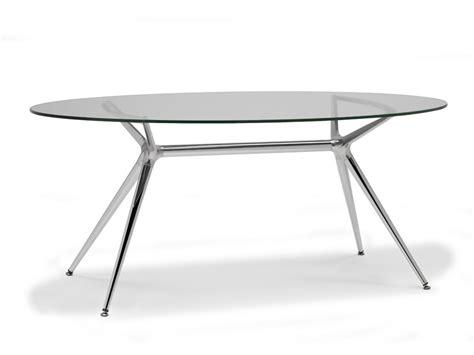 table de cuisine ovale metropolis table ovale by scab design