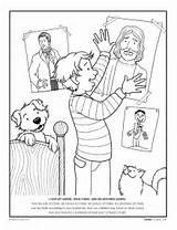 Coloring Jesus Lds Gospel Christ Savior Boy Atonement Forgiveness Church Children Desenhos Lesson Faith Friend Game His Primary Commandments Mormon sketch template