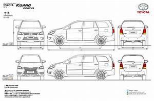Toyota Innova Body Kit Blueprints By Hanif