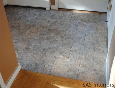 how to install groutable vinyl floor tile hoh85 hookin