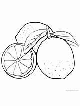 Lime Coloring Lemon Gaddynippercrayons Fruit Printable Limes Sheets Fruits Citrus sketch template