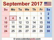September 2017 Calendar With Holidays UK free calendar 2018