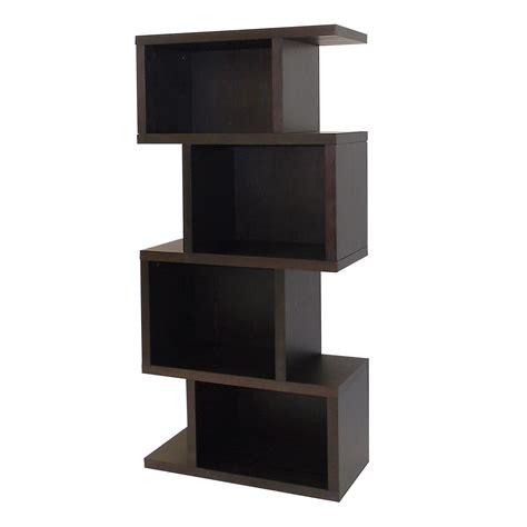 bamboo 5 shelf bookcase narrow shelf unit bathroom my web value