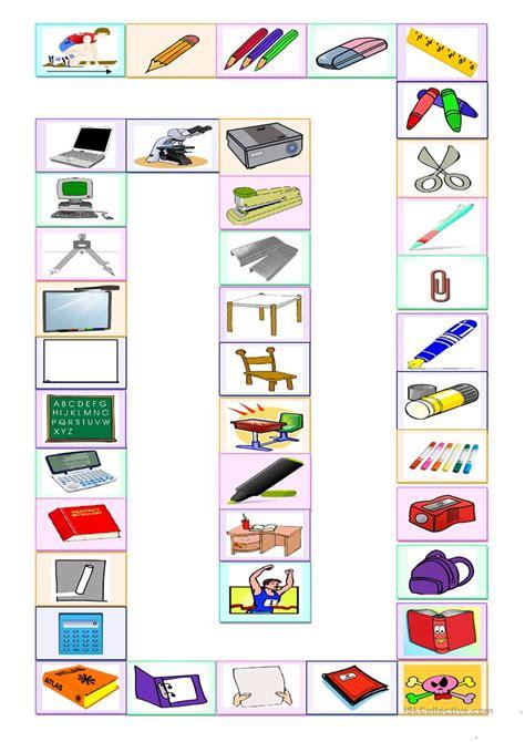 fourniture de bureau en anglais jeu des fournitures scolaires fiche d exercices fiches p 233 dagogiques gratuites fle
