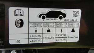 Ford Ranger Tyre Pressure