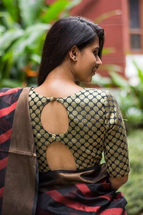 blouse designs  side  lehenga  sarees