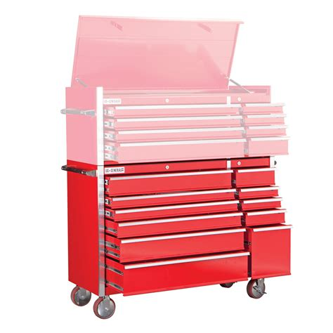harbor freight storage cabinet 56 in 11 drawer glossy red industrial roller cabinet