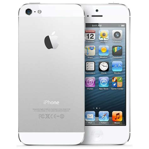 iphone 5 unlocked iphone 5 32gb silver unlocked grade a