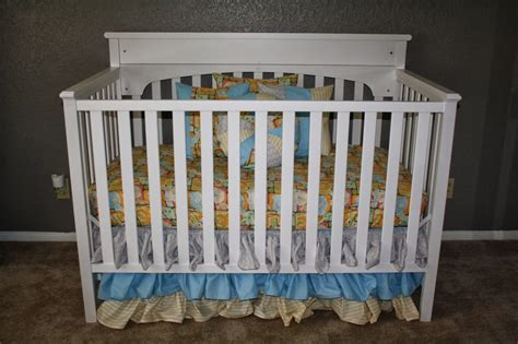 Prop The Crib Mattress Up For Babies With Acid Reflux