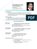 mark ryan quiambao resume philippines engineering