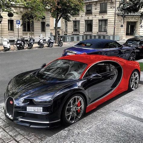 """Bugatti chiron 8.0 liter quad turbocharged w16 engine, 1500 horsepower top speed is limited to 420 km/h aed 15 million only 500 made gallery. 2,672 Likes, 9 Comments - ALUX.COM (@alux) on Instagram: """"Red & Black Bugatti Chiron What's an ..."""