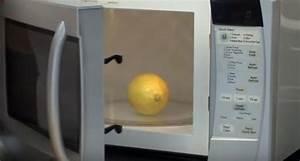 Nettoyer Micro Onde Citron : mettre un citron au micro ondes pendant 20 secondes pour ~ Melissatoandfro.com Idées de Décoration