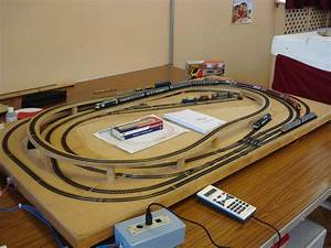 N Scale Model Railway Track