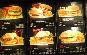 McDonald's Calorie Counts « carlos piantini
