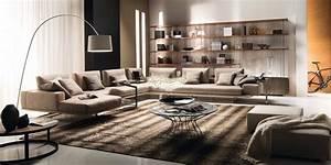 Modern, Italian, Living, Room, Furniture