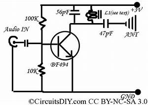 the simplest fm transmitter ever made circuits diy With easy fm transmitter