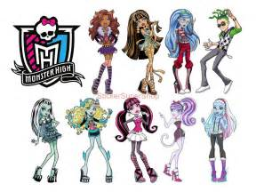 Monster High Main Characters