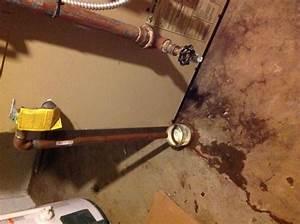 Heating Boiler  Heating Boiler Leaking Water