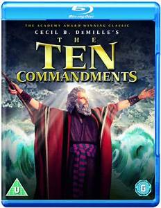 The Ten Commandments 1956 Hindi Dubbed BluRay 720p