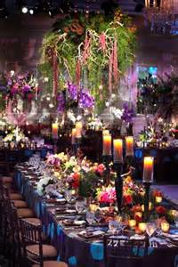 themed centerpieces for weddings colorful ballroom wedding in chicago with quot enchanted