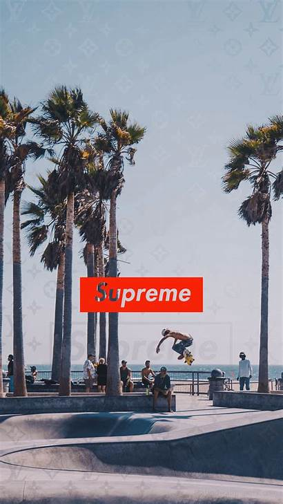 Supreme Wallpapers 4k Background Allhdwallpapers Skateboard Vuitton