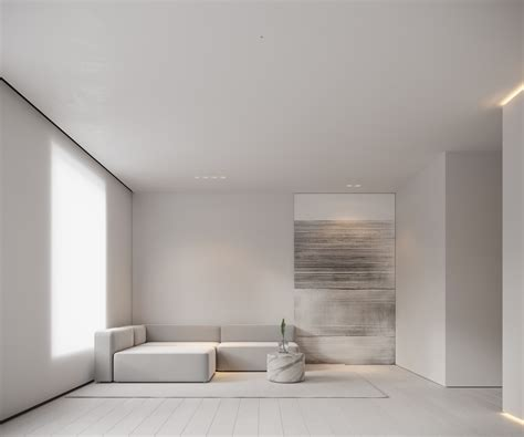 neutral modern minimalist interior design  examples