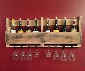 Pallet, Wine, Rack, 9, Steps, With, Pictures