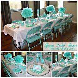 Image of: Image Gallery Tiffany 39 Bridal 2 Ultimate Unique Bridal Shower Décor Based On Specific Concept