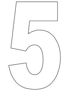 easy         printable numbers