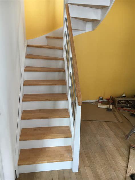 d馗o cuisine cagne escalier repeint en blanc 28 images tout refaire sans se tromper entr 233 e photo 2 3 la prochaine 233 peindre le mur de la escalier bois et