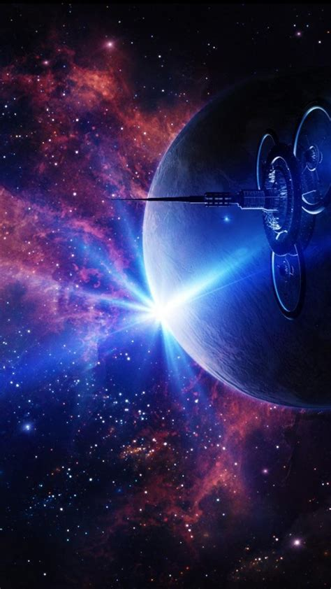outer space fantasy art wallpaper