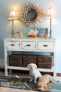 DIY Entryway Table Idea