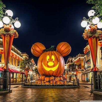 Halloween Desktop Disneyland Disney Backgrounds Background Pc