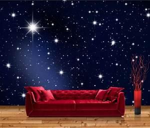Sternenhimmel Fürs Schlafzimmer : vliestapete sternenhimmel ~ Michelbontemps.com Haus und Dekorationen