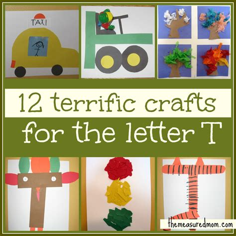 letter t arts and crafts for preschoolers preschool crafts for letter t the measured 45478