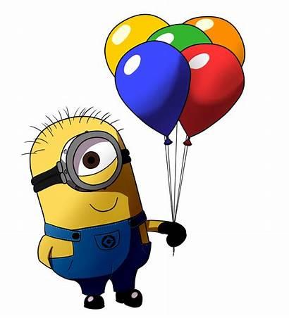 Minion Balloon Minions Clipart Thank Birthday Clip