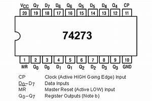 Ttl-logic Ic Ff 74273 Hc-family Dip20