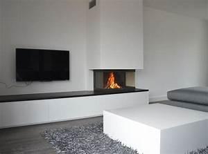 Offener Kamin Modern : inbouw haard google zoeken m bel elektrischer kamin kamin wohnzimmer und tv kamin ~ Buech-reservation.com Haus und Dekorationen
